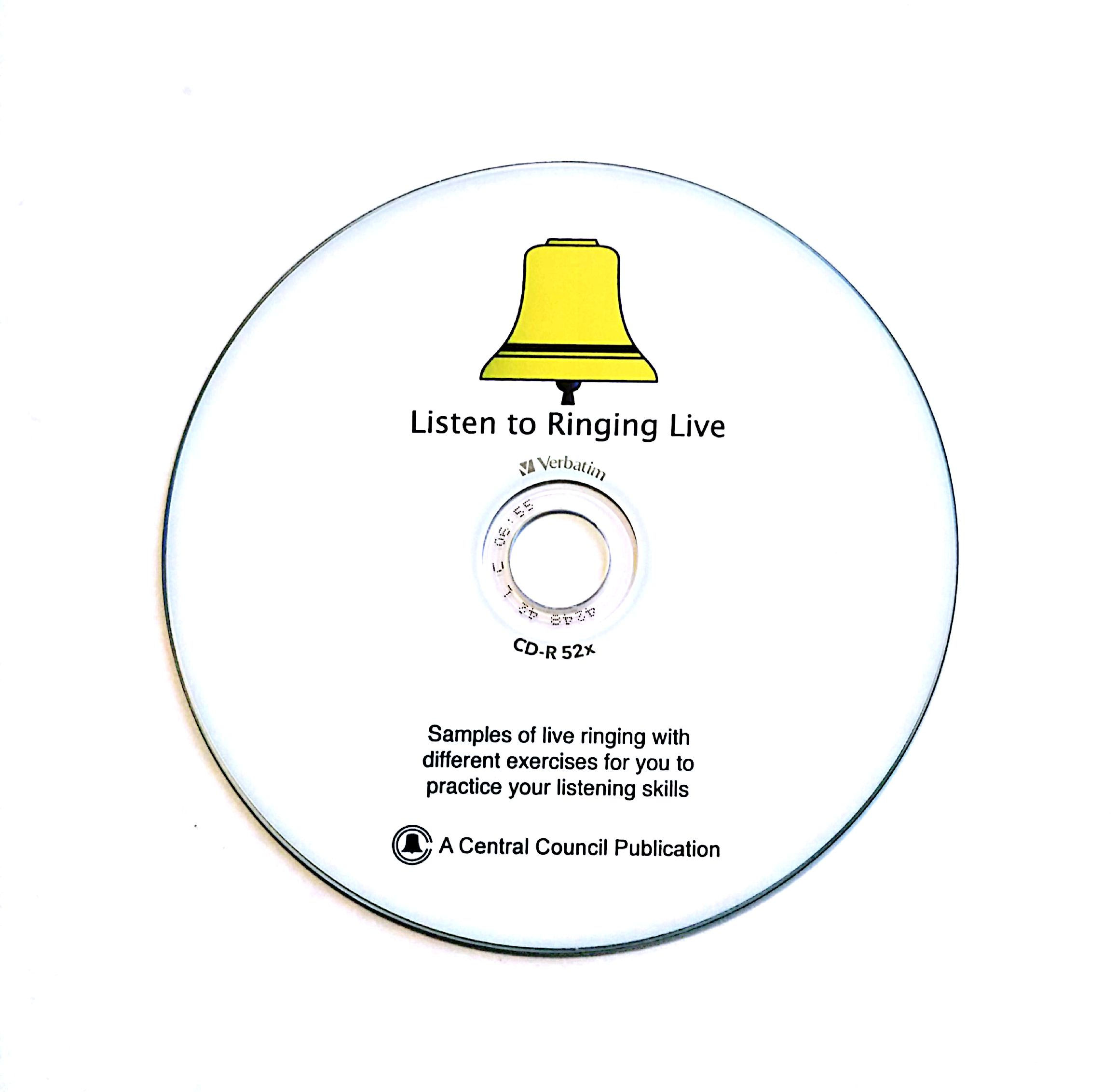Listen to Ringing Live CD